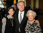 From left: Rebecca Fein Luks, Martin Fein and Celina Fein at the Guardian of the Human Spirit Luncheon at the Hilton Americas Hotel Monday Nov. 05,2012.(Dave Rossman photo)
