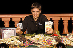 Winner, his hand and cash.