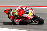 Andrea Dovizioso (4) in action during the Red Bull Grand Prix of the Americas practice sessions at Circuit of the Americas racetrack in Austin,Texas.