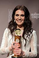 March, 23, 2014 - JUTRAS Awards Gala -  Melissa Desormeaux-Poulin, meilleure actrice de soutien : Gabrielle