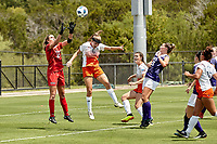 SAN ANTONIO, TX - SEPTEMBER 2, 2018: The University of Texas at San Antonio Roadrunners defeat the Grand Canyon University Lopes 2-1 in extra time at the Park West Athletics Complex. (Photo by Jeff Huehn)