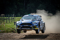 3rd July 2021, Liepaja, Latvia;  14 DEVINE Callum (IRL), FULTON James (IRL), MOTORSPORT IRELAND RALLY ACADEMY, Ford Fiesta during the 2021 FIA ERC Rally Liepaja, 2nd round of the 2021 FIA European Rally Championship