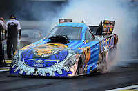 Jun. 1, 2012; Englishtown, NJ, USA: NHRA funny car driver Jim Head during qualifying for the Supernationals at Raceway Park. Mandatory Credit: Mark J. Rebilas-