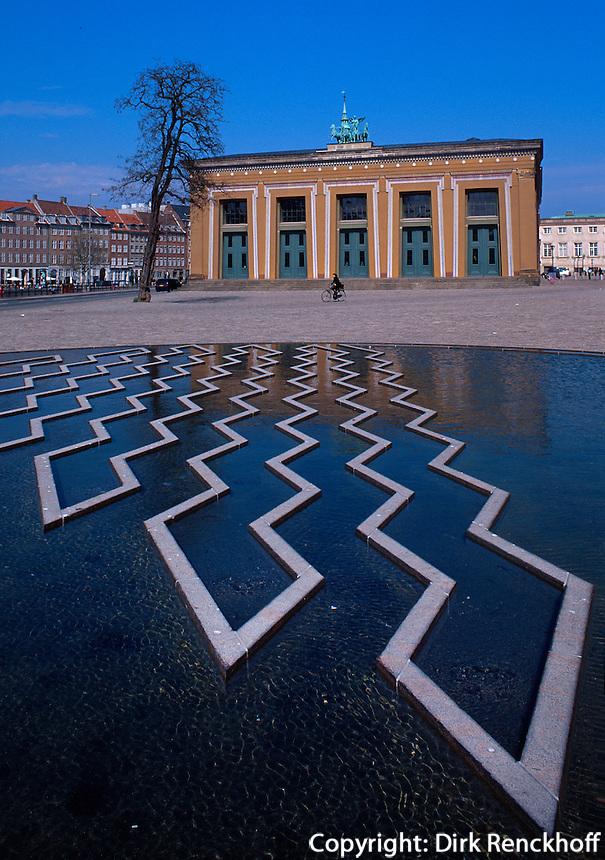Daenemark,  Thorvaldsens Museum in Kopenhagen