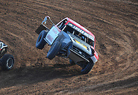 Dec. 11, 2011; Chandler, AZ, USA;  LOORRS pro lite driver Rodrigo Ampudia (36) during the Lucas Oil Challenge Cup at Firebird International Raceway. Mandatory Credit: Mark J. Rebilas-