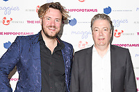 "director, John Jencks and Roger Allam<br /> at the premiere of ""The Hippopotamus"" at the Mayfair Hotel, London. <br /> <br /> <br /> ©Ash Knotek  D3269  31/05/2017"