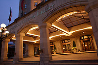 The Chateau Laurier historic Hotel on Rideau Street in..Ottawa, Capital of Canada....photo : (c)  Images Distribution..