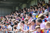 Crystal Palace fans during the Friendly match between Barnet and Crystal Palace at The Hive, London, England on 11 July 2015. Photo by David Horn.