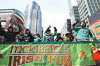St-Patrick day parade in Montreal, Canada, March 22, 2015<br /> <br /> PHOTO :   : Agence Quebec Presse