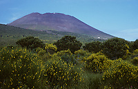 Ätna, Etna, Blick auf den Vulkanberg, Vulkan, Sizilien, Italien