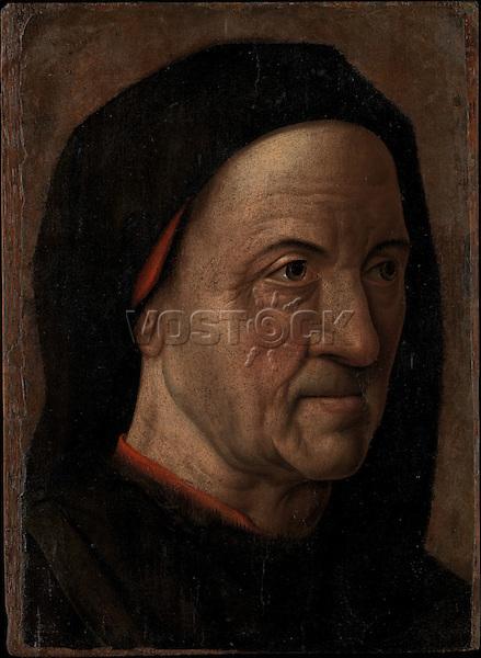 Portrait of a Man<br /> Circle of Hugo van der Goes (Netherlandish, ca. 1470–75), The Metropolitan Museum of Art, New York.