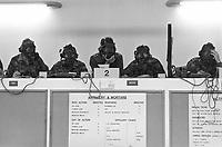 - British Army of the Rhine, Brigade and battle Group Trainer, installation for simulated  management of battlefield  (September 1986)..- Armata Inglese del Reno, installazione per la gestione simulata del campo di battaglia (settembre 1986)