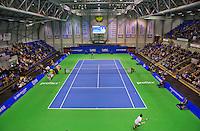 Rotterdam, Netherlands, December 20, 2015,  Topsport Centrum, Lotto NK Tennis, Final mens single Overall vieuw<br /> Photo: Tennisimages/Henk Koster