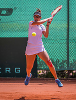 The Hague, Netherlands, 11 June, 2017, Tennis, Play-Offs Competition, Mihaela Buzarnescu, Leimonias<br /> Photo: Henk Koster/tennisimages.com