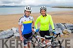 Ciara Tierney (Spa) and Susan O'Sullivan (Fenit) enjoying their cycle in Fenit on Sunday.