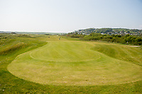 General View of one of the greens at Tenby Golf Club, Tenby, Pembrokeshire, Wales, UK