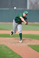 Beloit Snappers Nick Highberger (31) throws during a game against the Cedar Rapids Kernels at Veterans Memorial Stadium on April 9, 2017 in Cedar Rapids, Iowa.  The Kernels won 6-1.  (Dennis Hubbard/Four Seam Images)