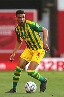 Hal Robson-Kanu of West Brom in action during Brentford vs West Bromwich Albion, Sky Bet EFL Championship Football at Griffin Park on 26th June 2020