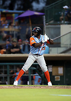 Yoel Yanqui participates in the 2019 California League All-Star Game at San Manuel Stadium on June 18, 2019 in San Bernardino, California (Bill Mitchell)