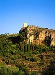 Tower on Hill, Kardhamili, Greece
