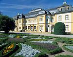 Deutschland, Bayern, Franken, Veitshöchheim: Schloß und Rokoko-Hofgarten | Germany, Bavaria, Upper Bavaria, Franconia, Veitshoechheim: castle and Rococo-court-garden
