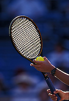 Racket with ball