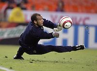 Tim Howard, Panama vs USA, World Cup qualifier at RFK Stadium, 2004.