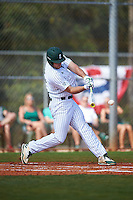 Eastern Michigan Eagles right fielder Mike Mioduszewski (15) at bat during a game against the Dartmouth Big Green on February 25, 2017 at North Charlotte Regional Park in Port Charlotte, Florida.  Dartmouth defeated Eastern Michigan 8-4.  (Mike Janes/Four Seam Images)