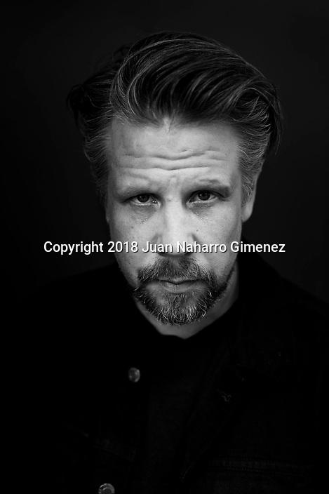 Filip Hammar poses during a portrait session.