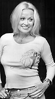 Mamie Van Doren, a so-called sex goddess of the silver screen in the 1950s and '60s, is alive and well and appearing this week at the Hook and Ladder Club. She says even though I'm fairly well stacked, the studio used to pad her bras.<br /> <br /> Photo : Erin Comb - Toronto Star Archives, via AQP