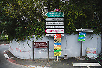 SIGNS<br /> <br /> Stage 9 from Pau to Laruns 153km<br /> 107th Tour de France 2020 (2.UWT)<br /> (the 'postponed edition' held in september)<br /> ©kramon