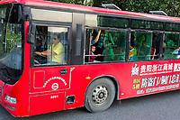 Guiyang, China.  City Bus.