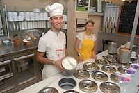 - Eataly, market for the sale of quality Italian food, ice cream counter<br /> <br /> - Eataly, market per la vendita del cibo italiano di qualità, banco dei gelati