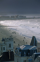 Europe/France/Normandie/Basse-Normandie/14/Calvados/Trouville: La plage