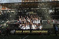 Portland, OR - Saturday September 22, 2018: NWSL Finals: North Carolina Courage vs Portland Thorns FC at Providence Park.