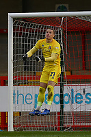 Paul Farman of Carlisle United during Crawley Town vs Carlisle United, Sky Bet EFL League 2 Football at Broadfield Stadium on 21st November 2020