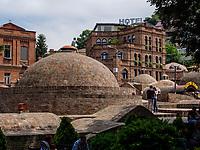 Bäderviertel Abanotubani, Tiflis – Tbilissi, Georgien, Europa<br /> thermal quarter Abanotuban, Tbilisi, Georgia, Europe