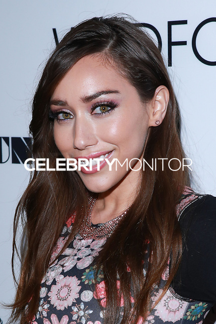 LOS ANGELES, CA, USA - DECEMBER 14: Korrina Rico arrives at the Wayke Up Fundraiser presented by Wildfox and Ladygunn Magazine hosted by Nikki Reed held at the Sofitel Hotel on December 14, 2014 in Los Angeles, California, United States. (Photo by David Acosta/Celebrity Monitor)