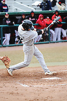 Cincinnati Bearcats outfielder Forrest Perron (7) during 2nd game of double header against the St. John's Redstorm at Jack Kaiser Stadium on March 28, 2013 in Queens, New York. Cincinnati defeated St. John's 6-5.      . (Tomasso DeRosa/ Four Seam Images)