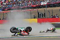 Aragon 24-09-2017 Moto Gp Spain photo Luca Gambuti/Image Sport/Insidefoto <br /> nella foto: Cal Crutchlow crash
