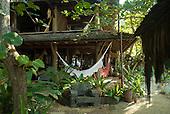 Praia da Tiririca, Itacare, Bahia State, Brazil. Hotel Pousada Shangri-la.