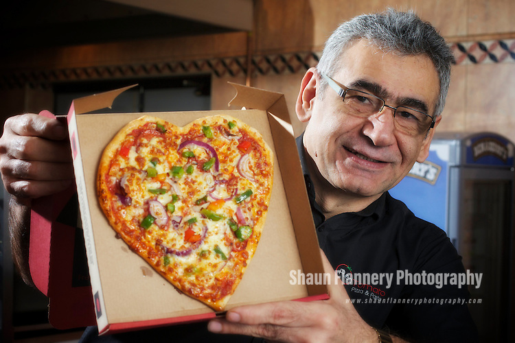 Pix: Shaun Flannery/shaunflanneryphotography.com...COPYRIGHT PICTURE>>SHAUN FLANNERY>01302-570814>>07778315553>>..10th February 2012……………Red Tomato Pizza & Pasta Takeaway..Greenhouse Court, Thorne Road, Doncaster.