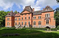 Schloss in Pelci-gebaut von Neumann 1904, Lettland, Europa