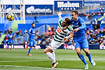 Sergi Enrich Ametller of SD Eibar (L) fights for the ball with Juan Cala of Getafe CF (R) during the La Liga 2017-18 match between Getafe CF and SD Eibar at Coliseum Alfonso Perez Stadium on 09 December 2017 in Getafe, Spain. Photo by Diego Souto / Power Sport Images