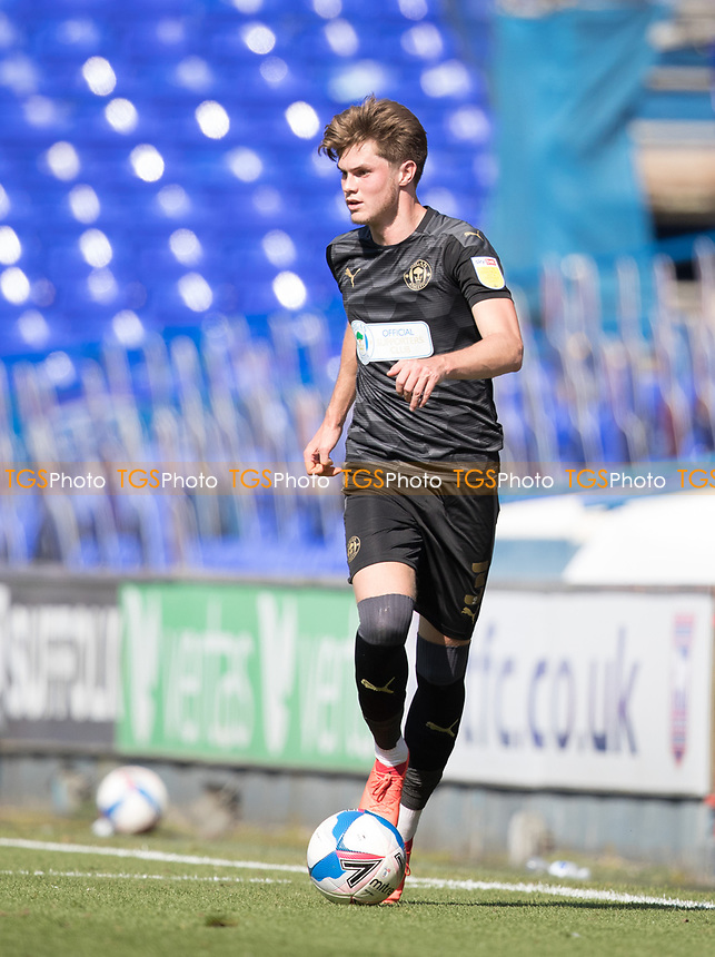 Tom Pearce, Wigan Athletic,  in action during Ipswich Town vs Wigan Athletic, Sky Bet EFL League 1 Football at Portman Road on 13th September 2020