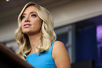 White House Press Secretary Kayleigh McEnany speaks during a press briefing in the James Brady Press Briefing Room of the White House on June 3, 2020 in Washington, DC.<br /> Credit: Oliver Contreras / Pool via CNP/AdMedia