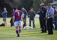 Action from the 2020 Canterbury Metro premier rugby union semifinal between Lincoln University Rams and Sydenham at Lincoln University in Christchurch, New Zealand on Saturday, 5 September 2020. Photo: Joe Johnson / lintottphoto.co.nz