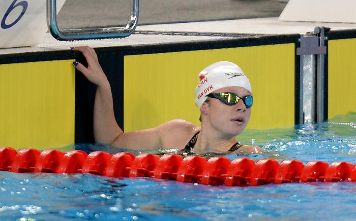 Emma Van Dyk, Lima 2019 - Para Swimming // Paranatation.<br /> Emma Van Dyk competes in Para Swimming // Emma Van Dyk participe en paranatation. 27/08/2019.