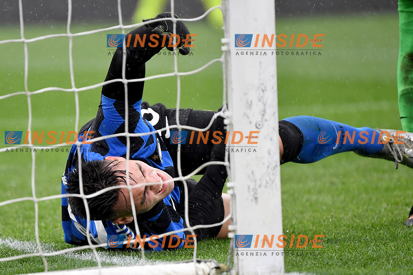 Lautaro Martinez of Inter during the Serie A football match between AS Roma and FC Internazionale at Olimpico stadium in Roma (Italy), January 10th, 2021. Photo Andrea Staccioli / Insidefoto