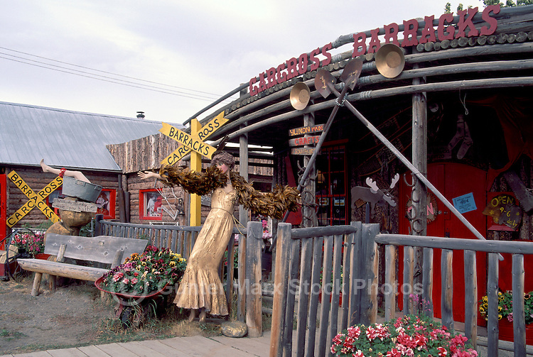 Carcross, YT, Yukon Territory, Canada - Chilkoot Trading Post and Gift Shop, Klondike Region